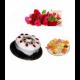 2 Pound Cake 1 kg Sweet 12 Red & Pink Roses