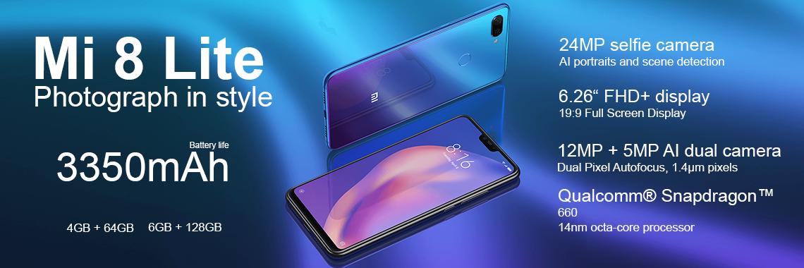 Xiaomi Mi 8 Lite.